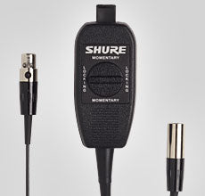 Shure WA360 In-Line Audio Mute Switch For Shure Wireless Body Pack Transmitters