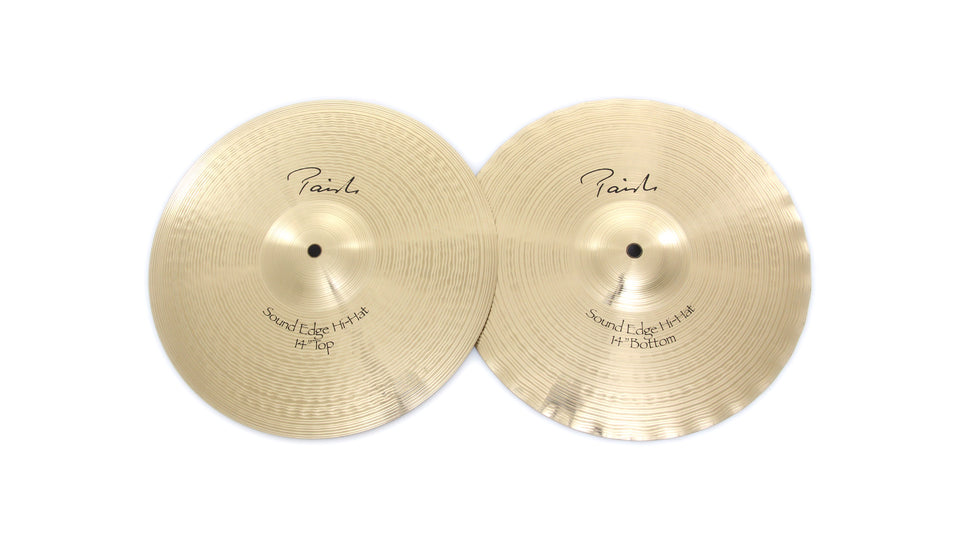"Paiste 14"" Signature Sound Edge Hi-Hat Cymbals"