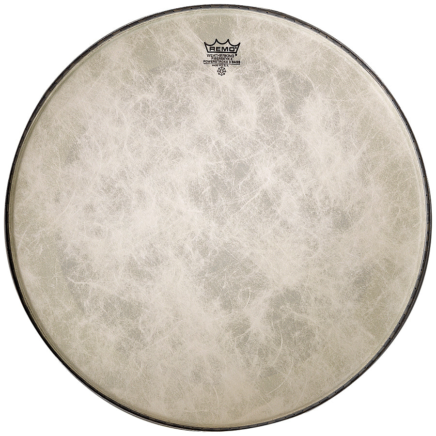 "Remo 24"" Fiberskyn Powerstroke 3 Bass Drum Head"