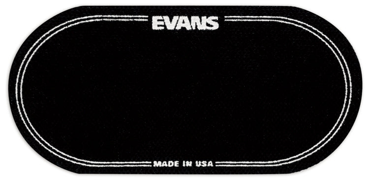 Evans Black Nylon Double Bass Drum Patches -2