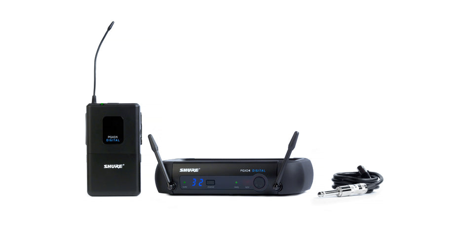 Shure PGXD14 Digital Wireless Guitar System - 900MHz