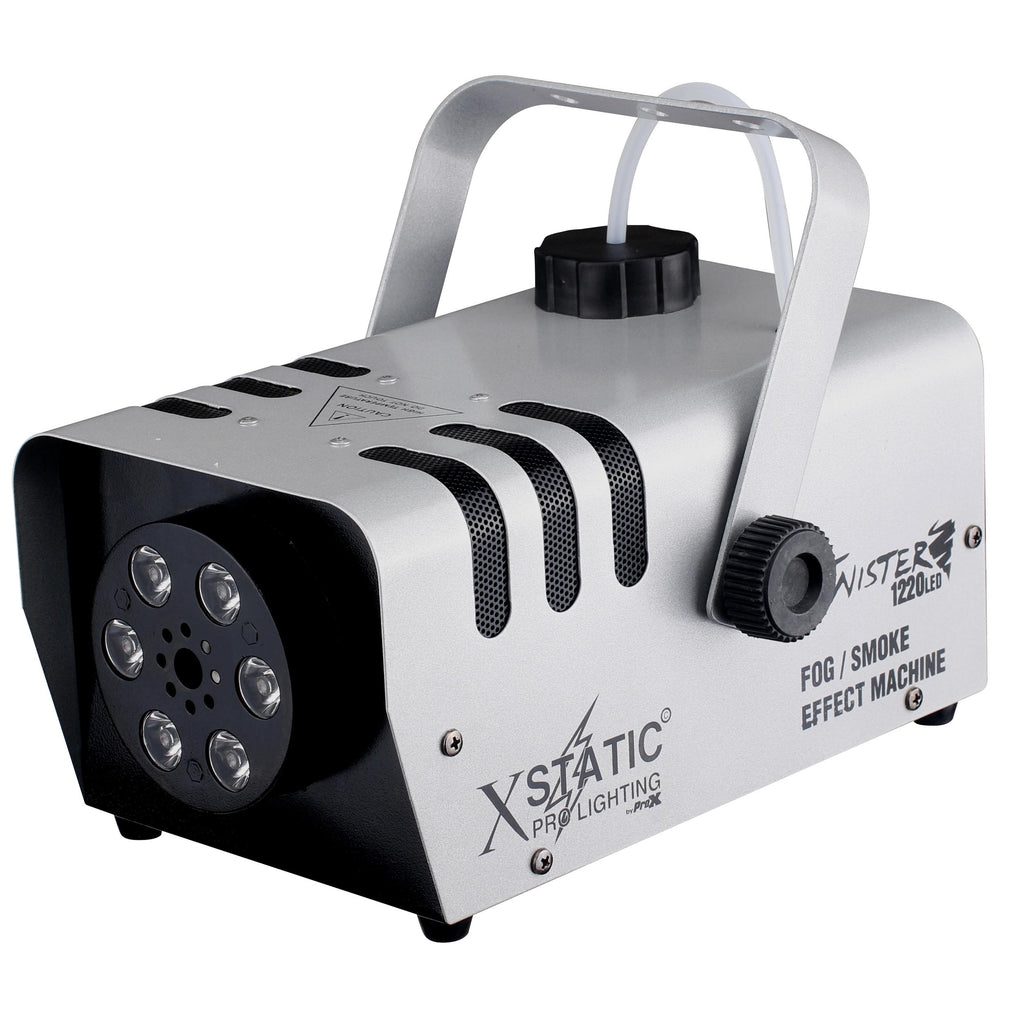 Xstatic X-T1220 Twister 1220W Fog Machine W/ LED