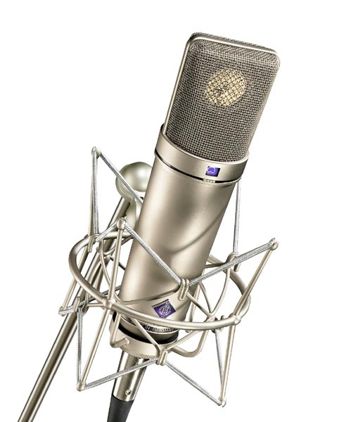 Neumann U 87 Ai Set Z Multi-Pattern Condenser Microphone W/ Shock Mount - Nickel