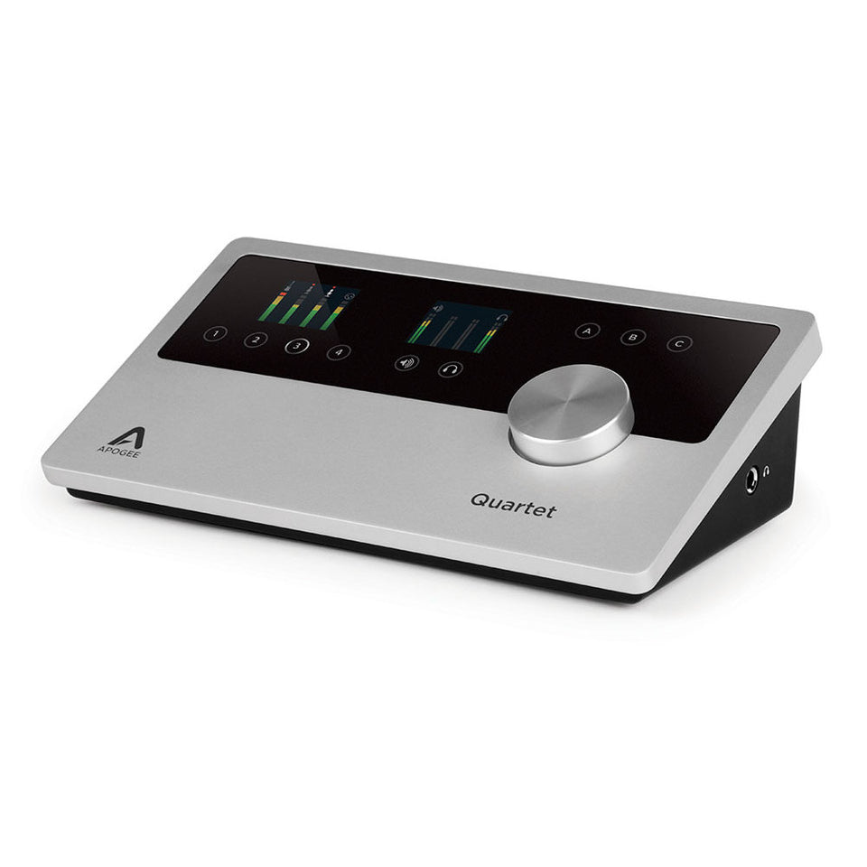 Apogee Quartet Professional 12 x 8 USB Audio Interface For Mac And PC