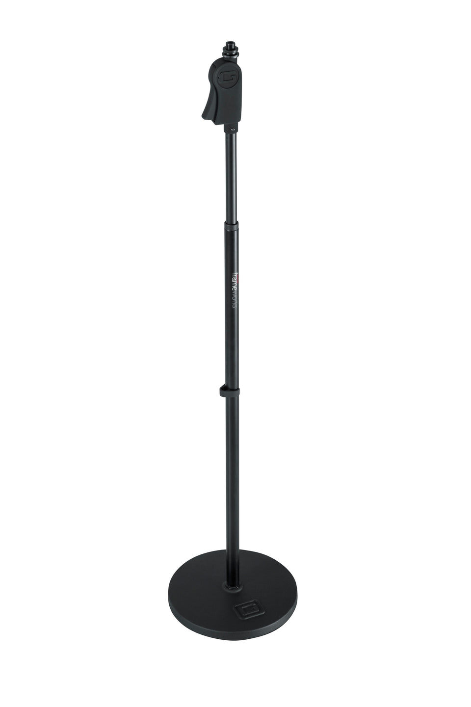 "Gator Frameworks GFW-MIC-1000 Standard 10"" Round Base Microphone Stand"