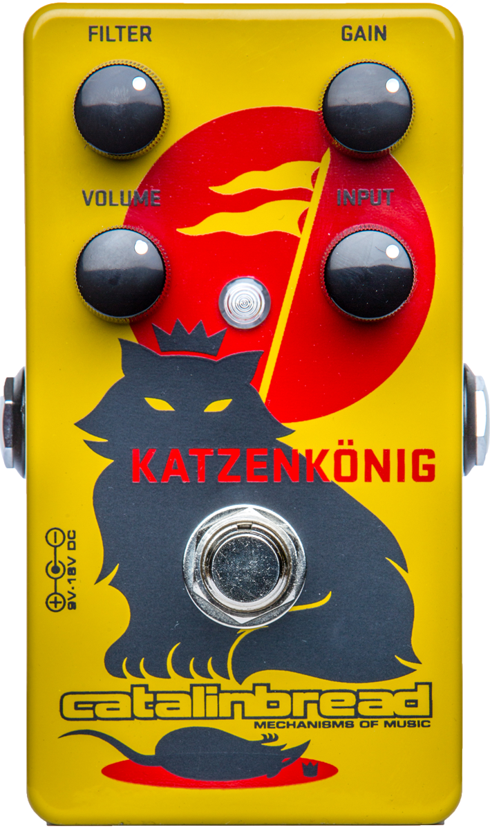 Catalinbread Katzenkonig Distortion Effects Pedal