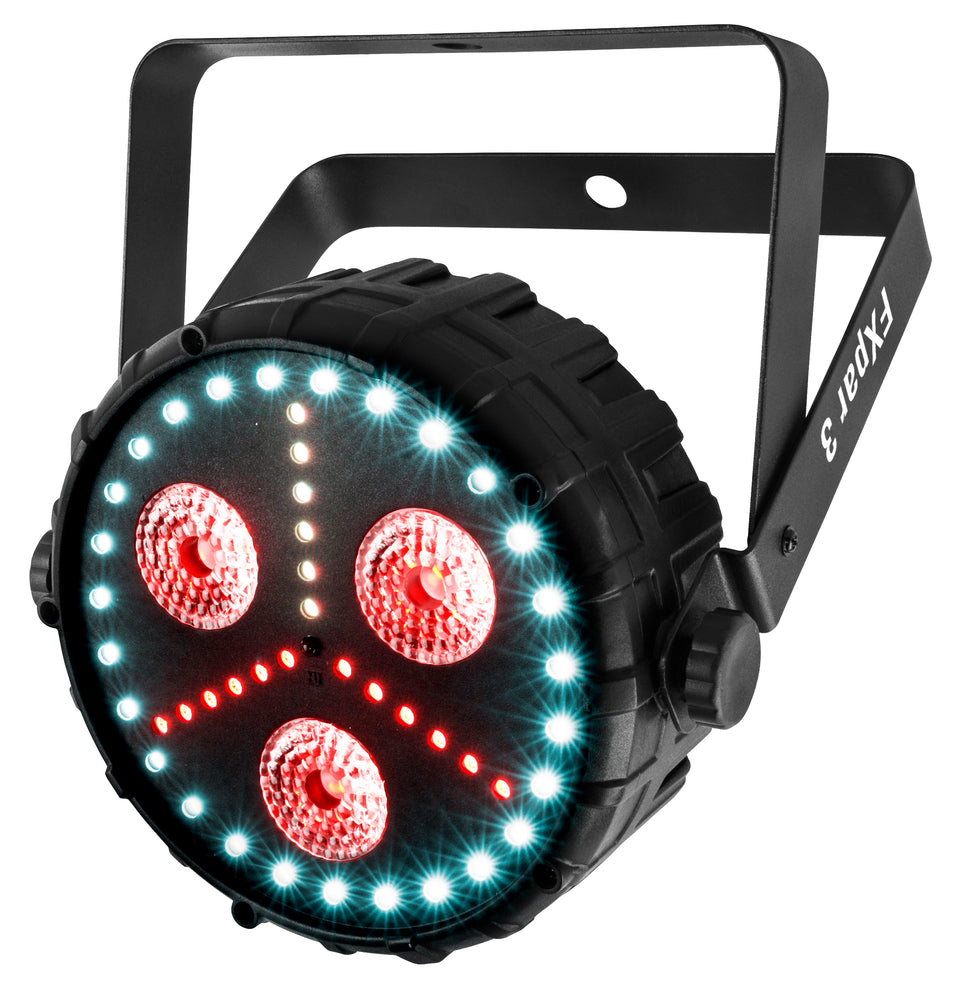 CHAUVET DJ FXpar 3 LED PAR Light