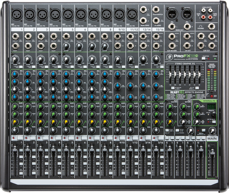 Mackie ProFX16v2 16 Channel 4-Bus Mixer