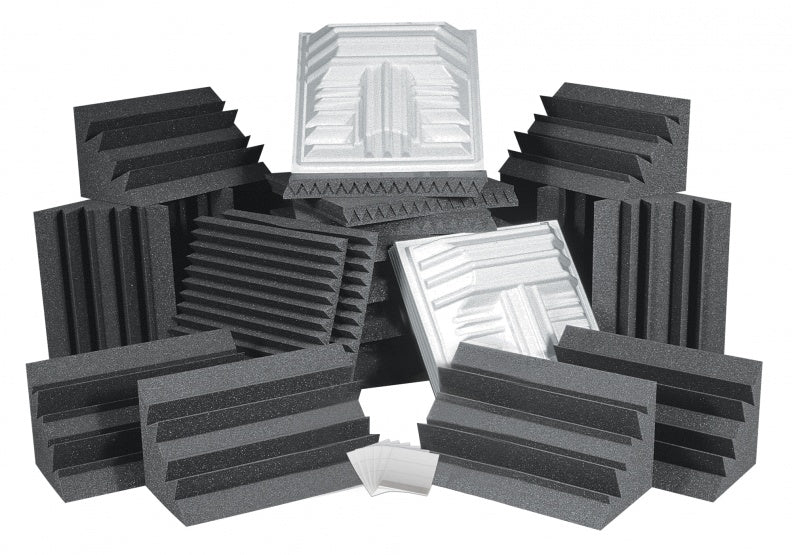 AURALEX ACOUSTICS ROOMPROPLUSCHA Pro Plus Roominator Acoustic Treatment Kit - Charcoal
