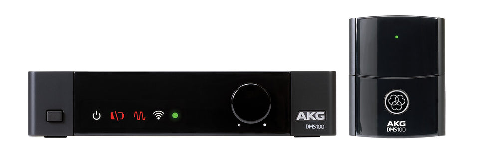 AKG DMS100 4-Channel 2.4GHz Digital Wireless Instrument System