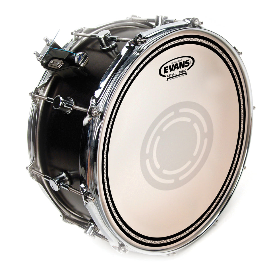 "Evans 14"" EC1 Reverse Dot Snare Batter Drum Head"