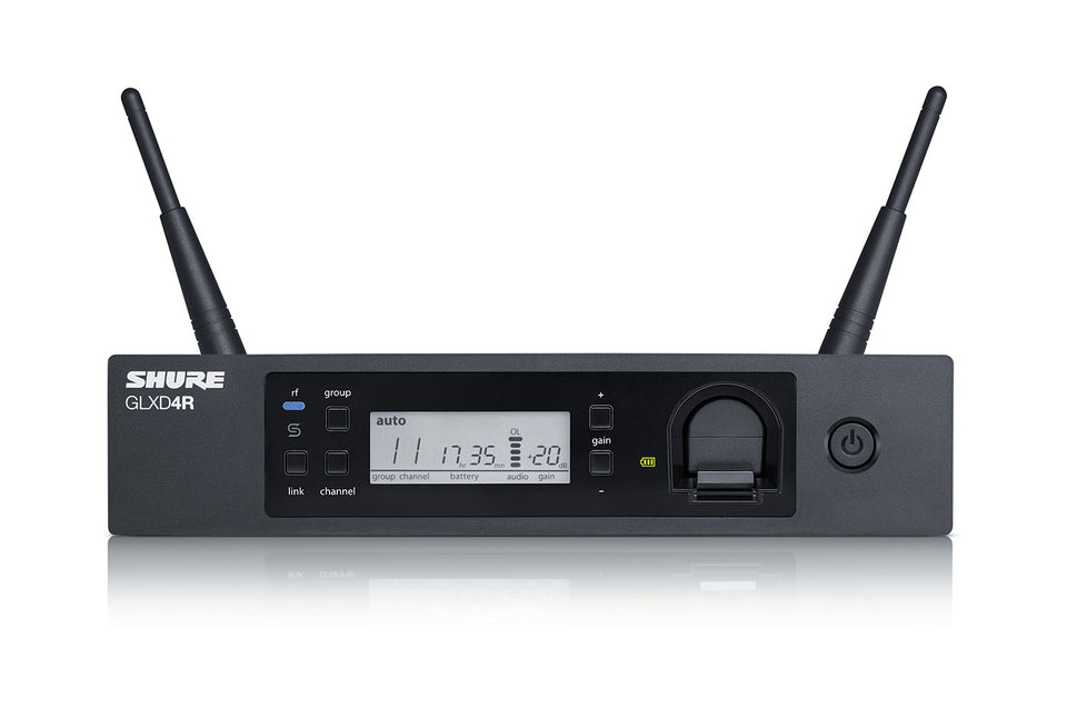 Shure GLXD4R Advanced Digital Wireless Receiver