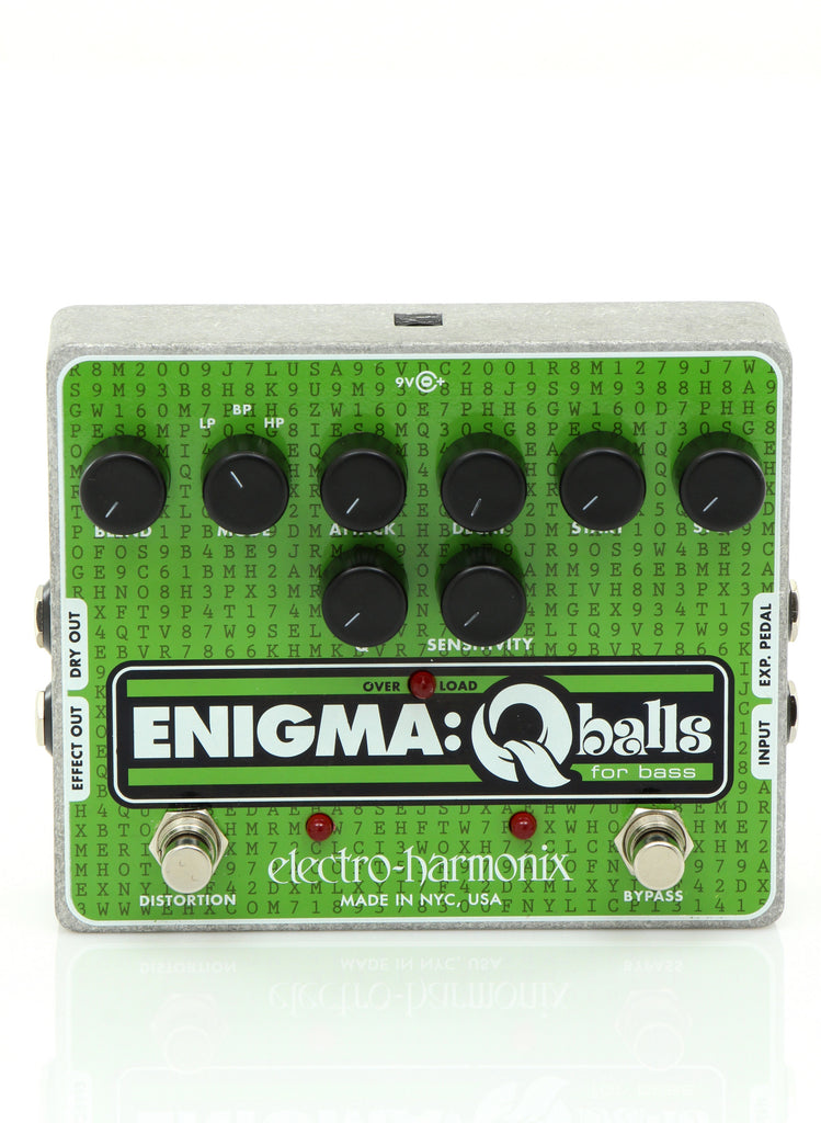 Electro Harmonix ENIGMA Envelope Filter Pedal For Bass