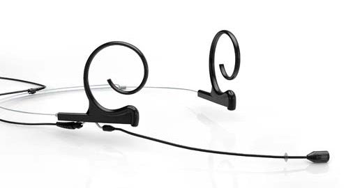 DPA d:fine 88 Microdot 120mm Dual-Ear Directional Headset Microphone - Black