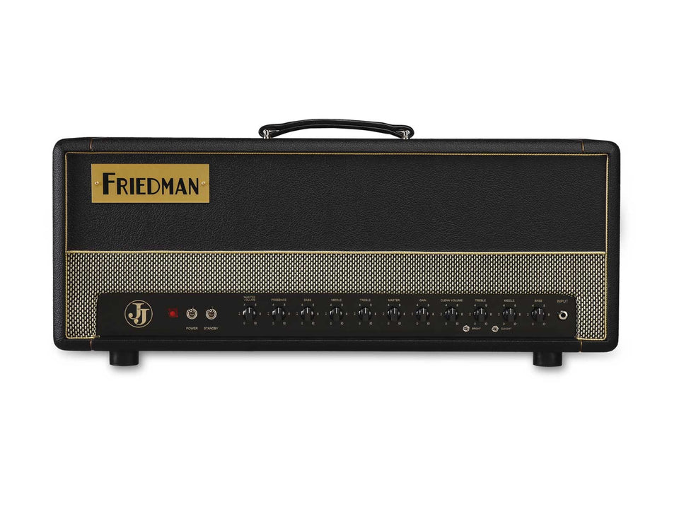 Friedman JJ-100 Jerry Cantrell Signature 100W 2-Channel Handwired Guitar Amplifier Head