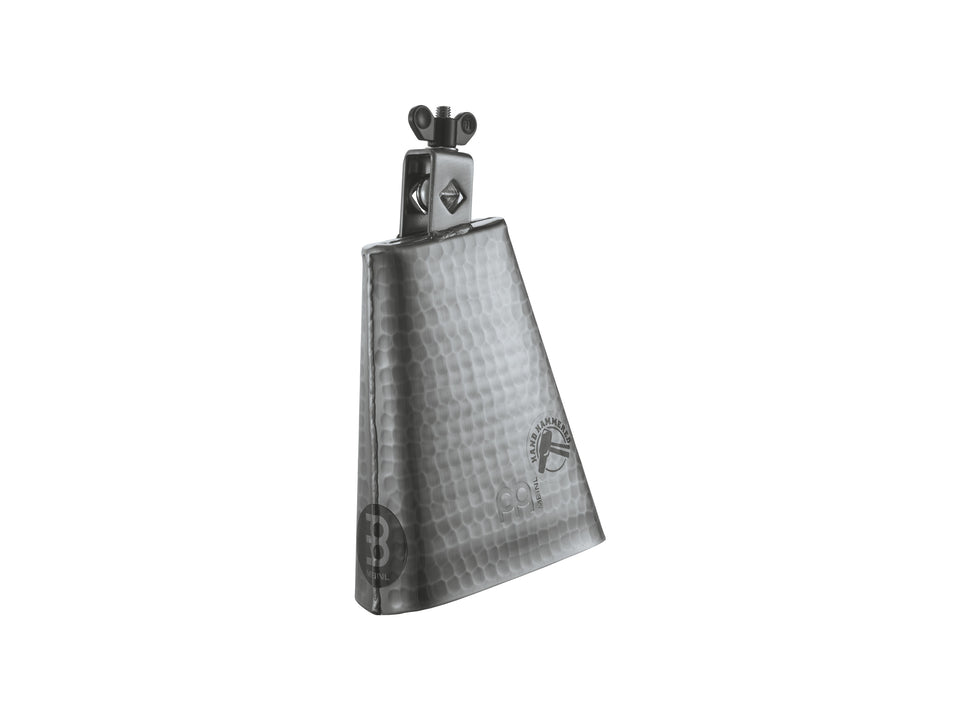 "Meinl STB625 Hammered 6 1/4"" Cowbell - Hand Brushed Steel"