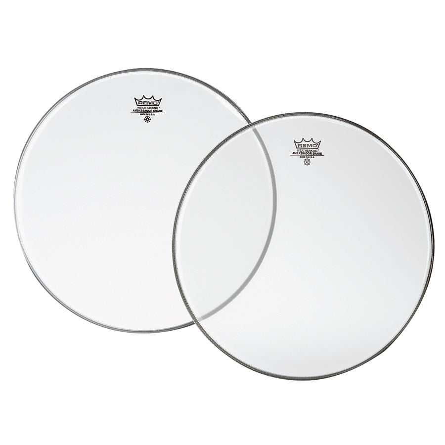 Remo Hazy Ambassador Resonant Snare Drum Heads