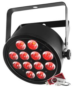 CHAUVET DJ SlimPAR T12 USB High Output Tri-Color (RBG) LED Wash Light
