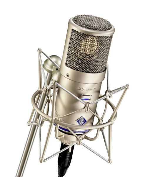 Neumann D-01 Solution D Switchable Polar Pattern Microphone - Nickel