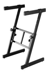 On-Stage Stands KS7350 Professional Heavy-Duty Folding-Z Keyboard Stand
