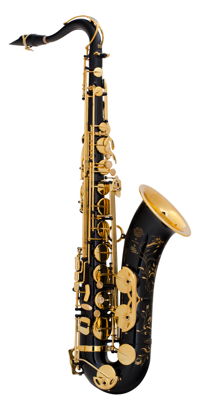 Selmer Super Action 80 Series II Tenor Saxophone - Black Lacquer