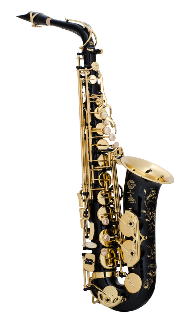 Selmer Super Action 80 Series II Alto Saxophone - Black Lacquer