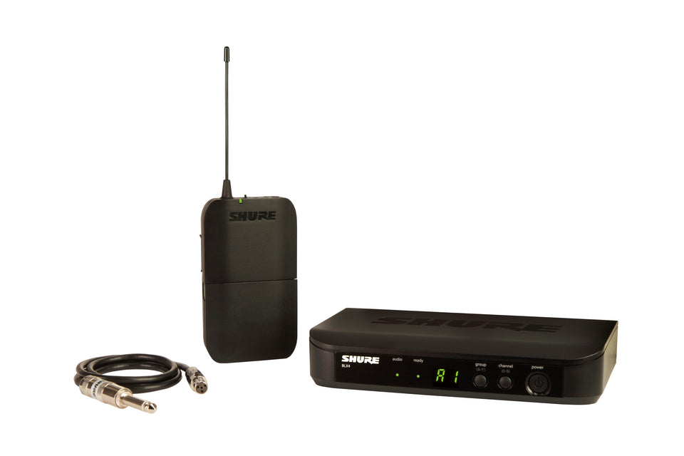 Shure BLX14-H9 Bodypack Guitar Wireless System