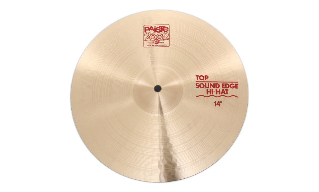 "Paiste 14"" 2002 Sound Edge Hi-Hat Top Cymbal"