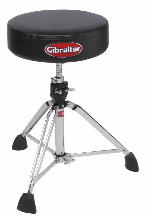 Gibraltar 9608 Drum Throne, Round Vinyl Seat
