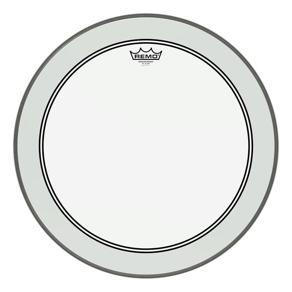 "Remo 22"" Clear Powerstroke 3 Bass Drum Head"