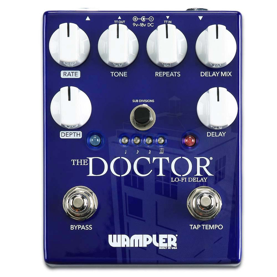 Wampler The Doctor LoFi Ambient Delay Pedal