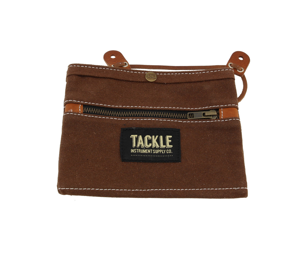 Tackle Waxed Canvas Gig Pouch
