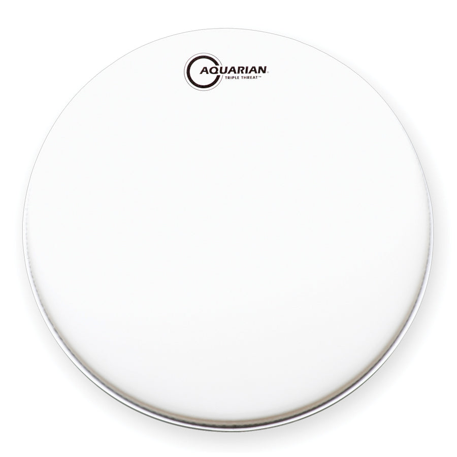 "Aquarian 13"" Triple Threat Snare Drum Batter Head"