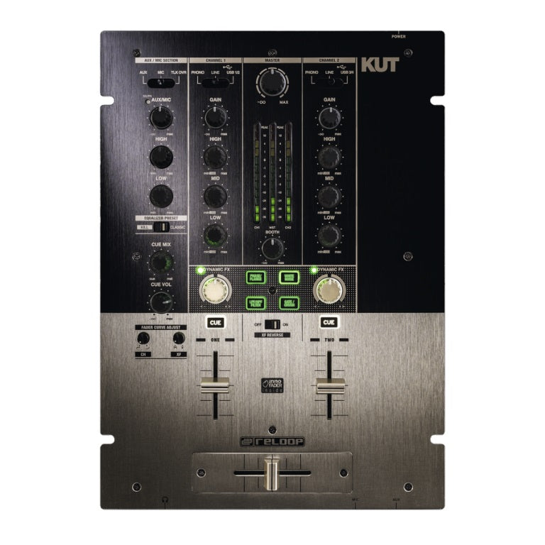 Reloop KUT Digital 2 Channel Battle Mixer