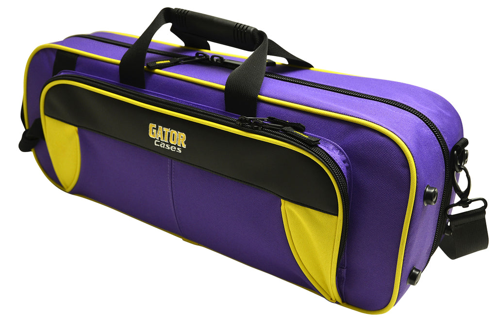 Gator GL-TRUMPET-YP Spirit Series Lightweight Trumpet Case, Yellow And Purple