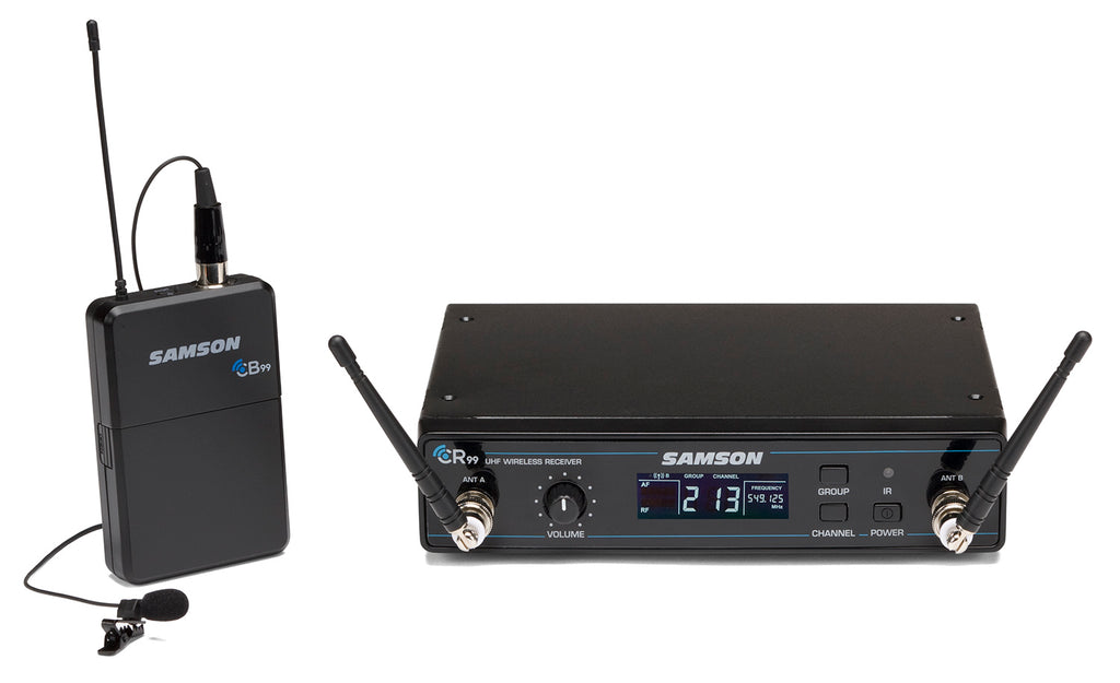 Samson Concert 99 Presentation Frequency Agile UHF Wireless System