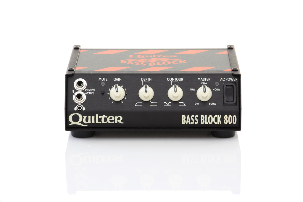Quilter Bass Block 800 225/450/800w Bass Amp Head