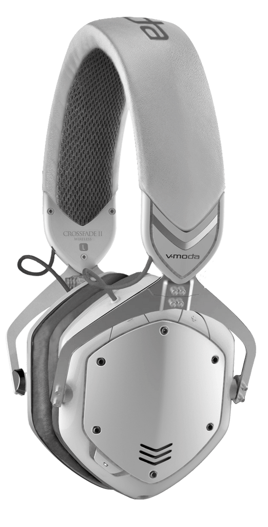 V-Moda Crossfade 2 Wireless BT Over-Ear Headphones - White