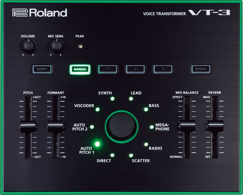 Roland AIRA VT-3 Vocal Processor and Synthesizer