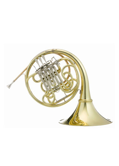 Hans Hoyer G10L2A F/Bᵇ Double French Horn - String Linkage, Detachable Bell