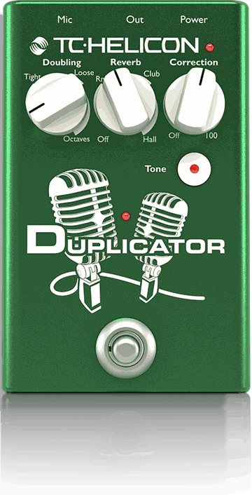 TC HELICON Duplicator Vocal Effect Pedal