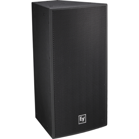Electro Voice EVF-1122S Two-Way 60° x 40° Full-Range Loudspeaker - Fiberglass Black