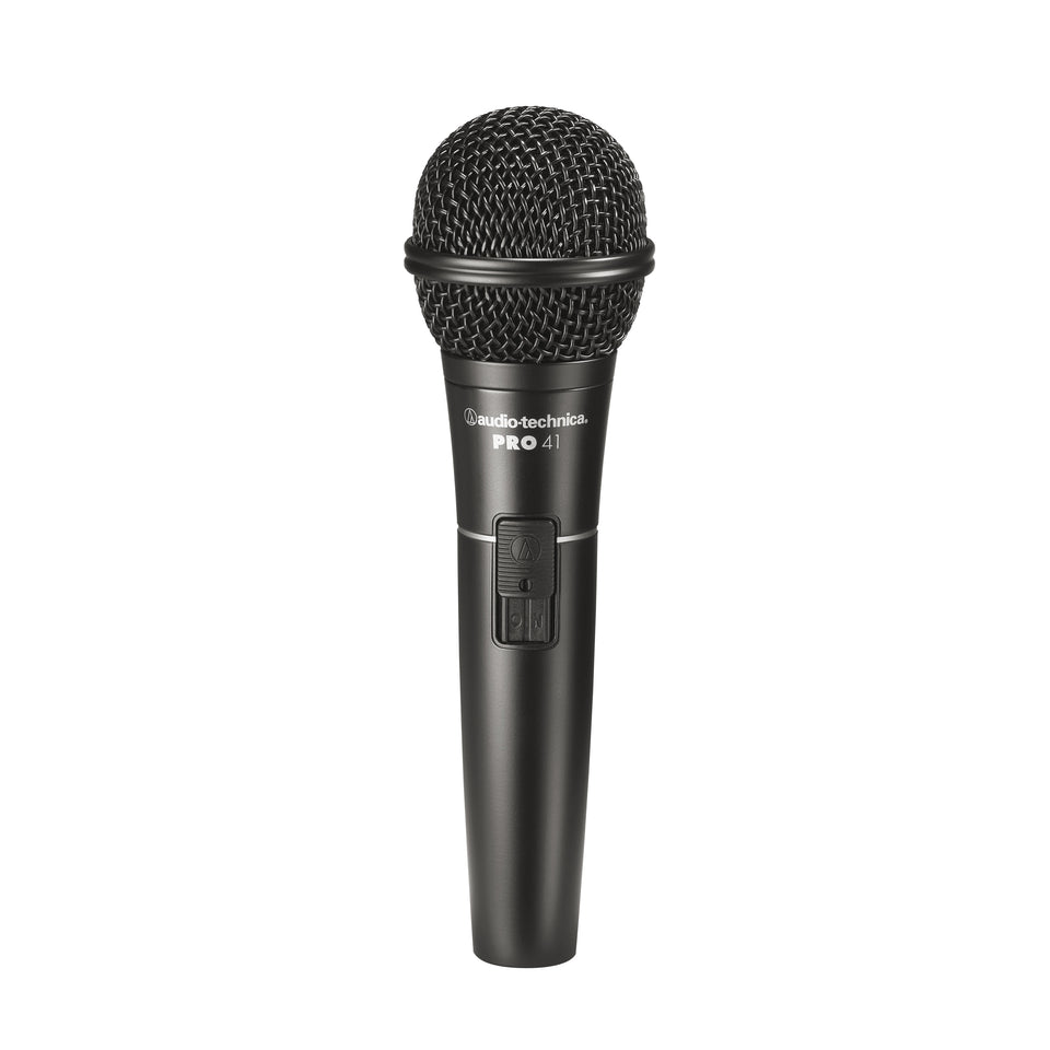 Audio-Technica PRO41 Cardioid Dynamic Vocal Microphone