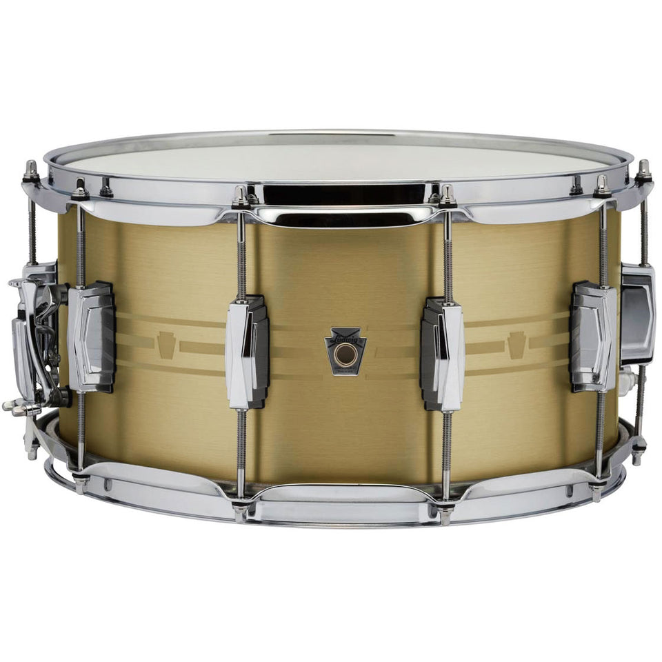 "Ludwig 14"" x 7"" Heirloom Brass Snare"