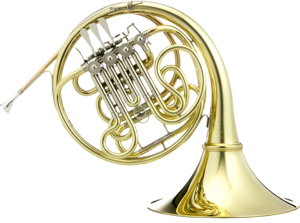 Hans Hoyer G10L1A F/Bᵇ Double French Horn - 3B Linkage, Detachable Bell