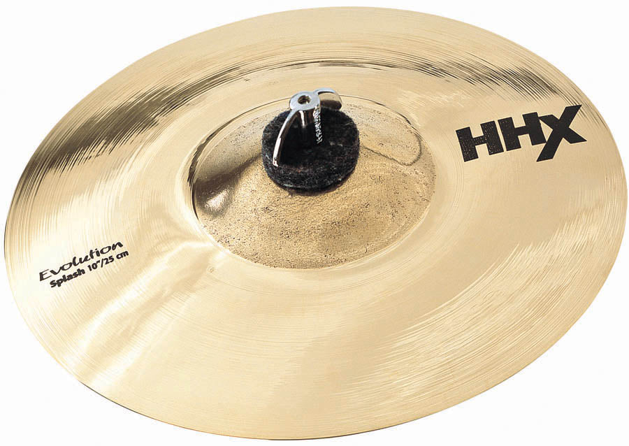 "Sabian 12"" HHX Evolution Splash Cymbal Brilliant Finish"