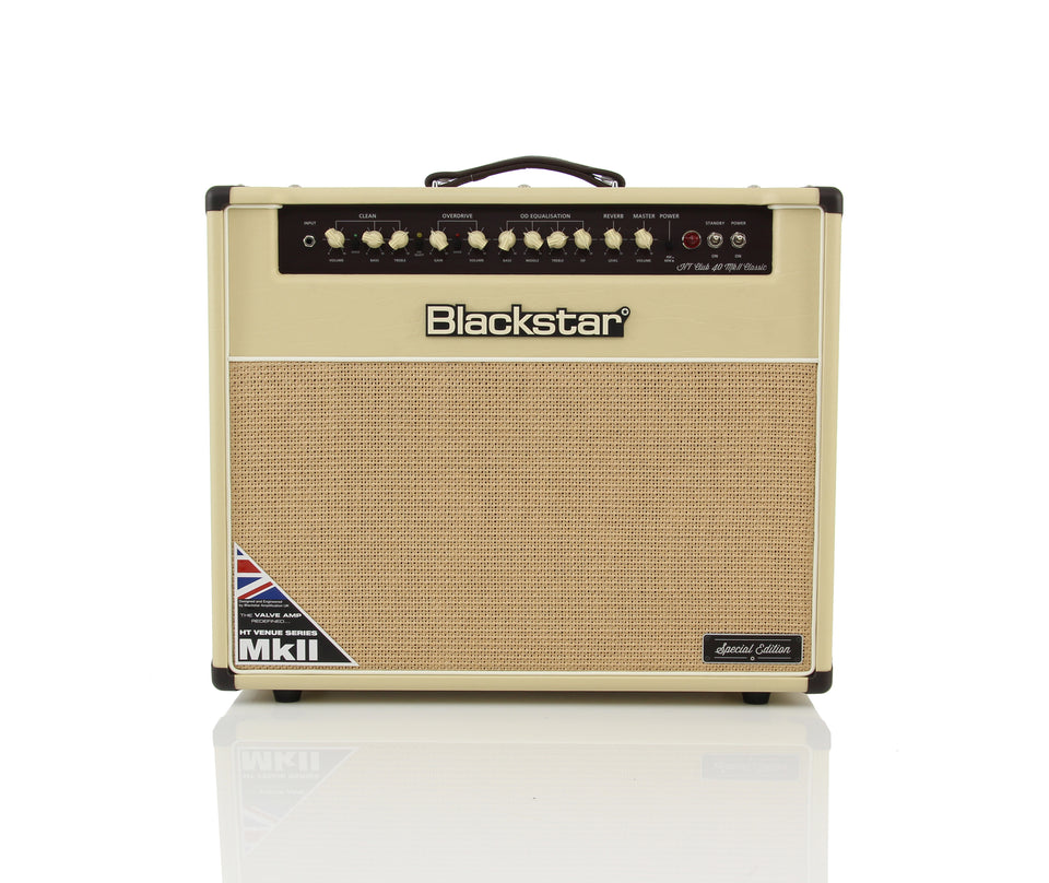 Blackstar Special Edition 40W 1x12 Electric Guitar Combo Amplifier - Cream