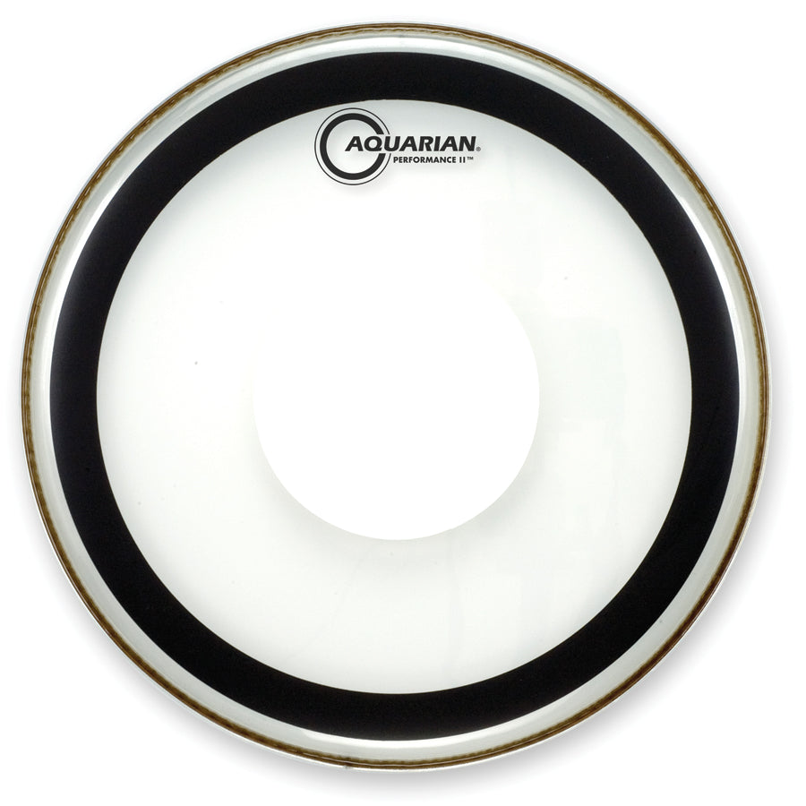 "Aquarian 22"" Performance 2 Power Dot Bass Drum Head"