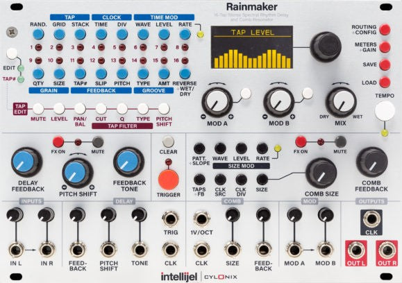 Intellijel Rainmaker Stereo Delay & Comb Resonator Module