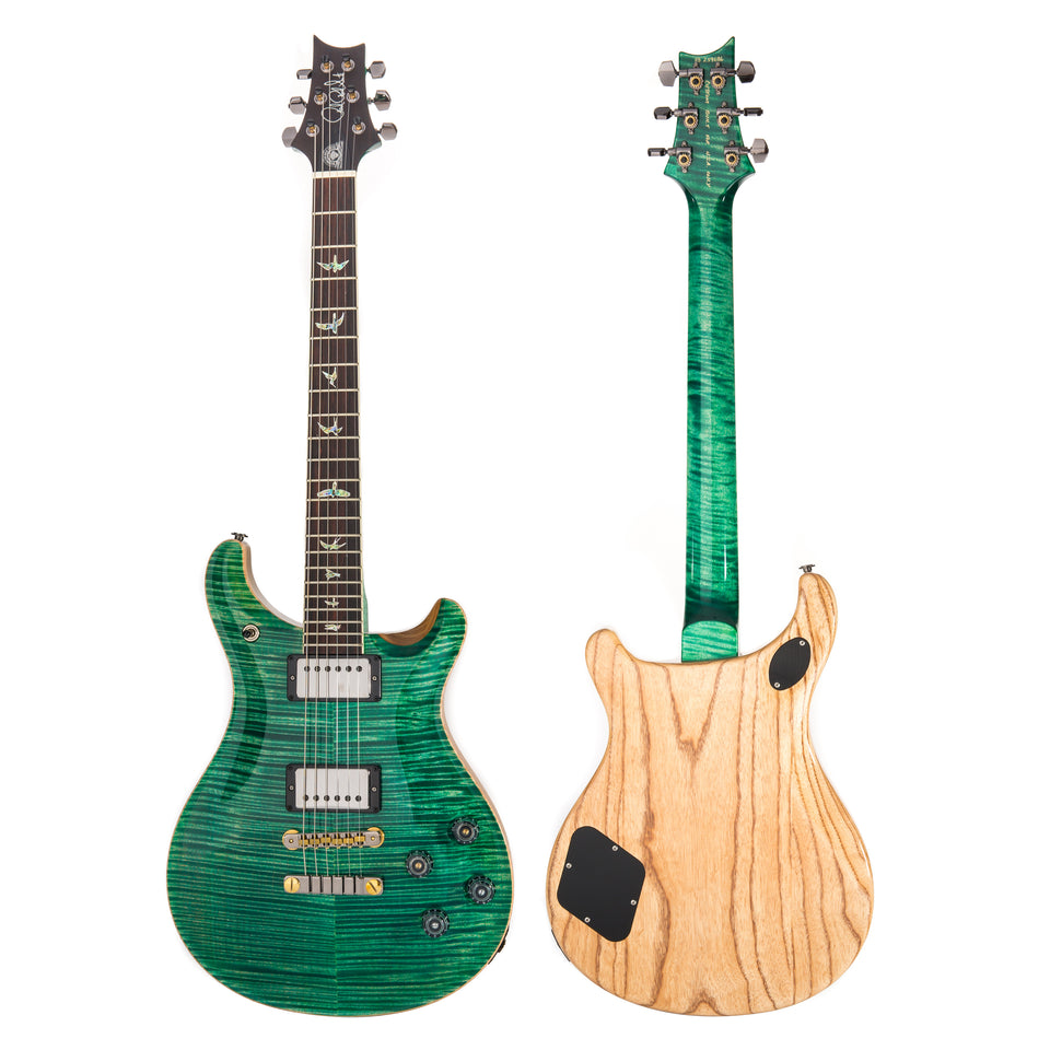 PRS McCarty 594-2 LTD, Artist Flame Top, FM Neck, Brazilian RW Fingerboard Electric Guitar - Absynthe